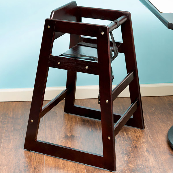 high chair restaurant tall bean bag lancaster table seating stacking wood with image preview