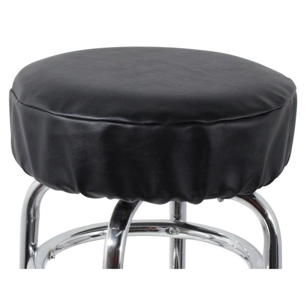 vinyl chair cushion covers 50 s diner table and chairs 14 black bar stool seat cover main picture