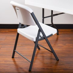 White Folding Chairs Herman Miller Eames Office Chair Lifetime 2802 Contoured Image Preview