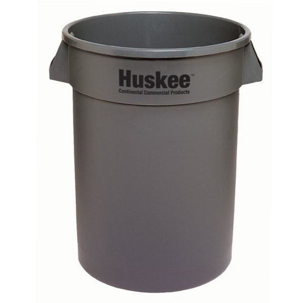 Continental 1001gy 10 Gallon Gray Huskee Trash