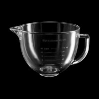 KitchenAid K5GB 5 Qt. Glass Mixing Bowl with Handle and ...