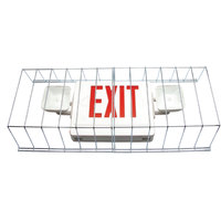 Lavex Industrial Universal Black LED Exit Sign and