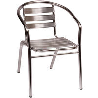 outdoor aluminum chairs intex inflatable chair and ottoman discounts clearance sales on restaurant supplies equipment bfm seating ms0021 parma indoor stackable arm