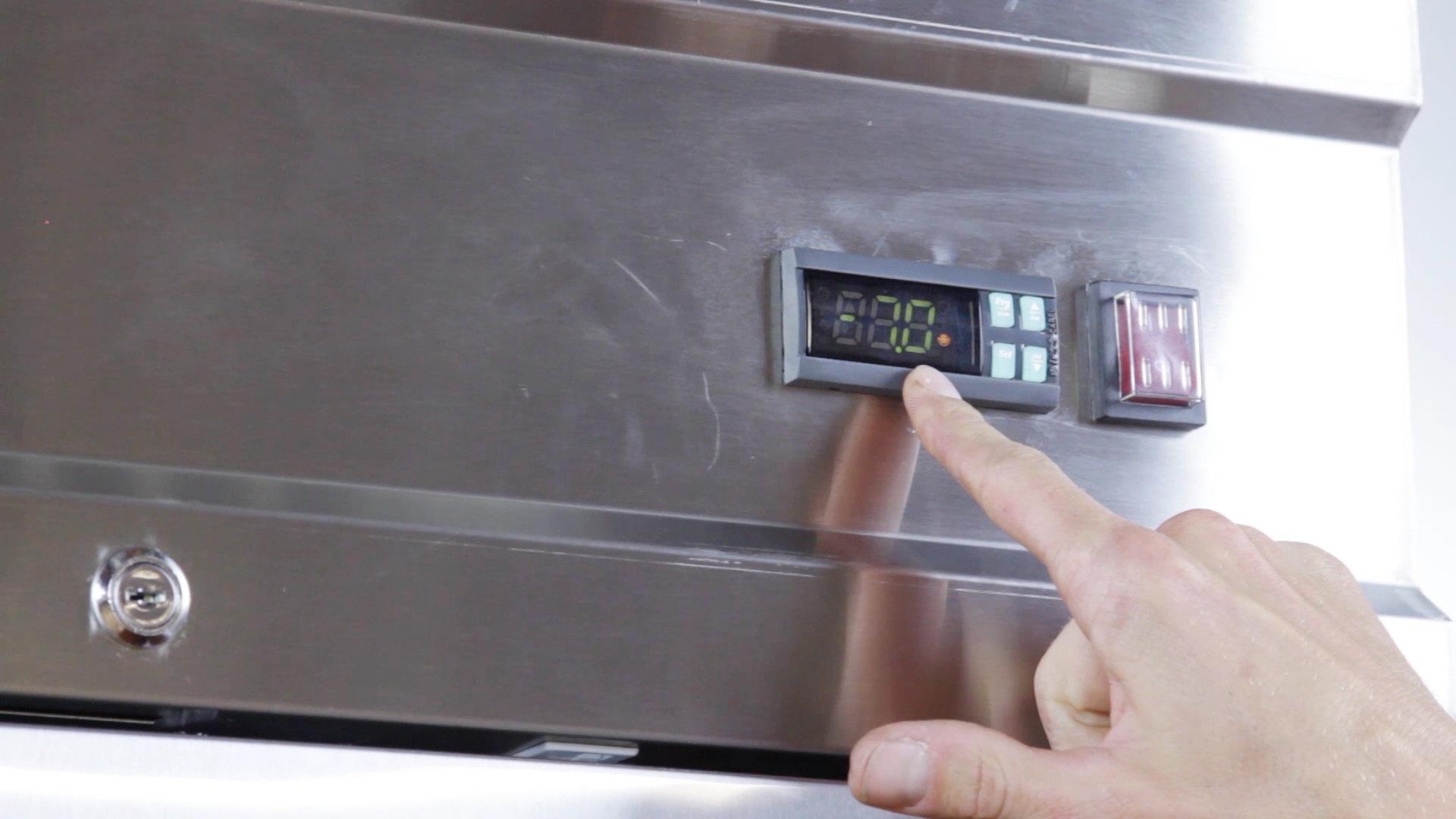 hight resolution of how to program a carel ir33 controller on an avantco freezer video webstaurantstore
