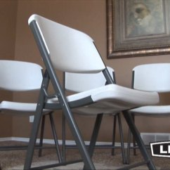 Lifetime Chairs And Tables Ebay Wedding Chair Covers To Buy Features Of Contoured Folding Video Webstaurantstore
