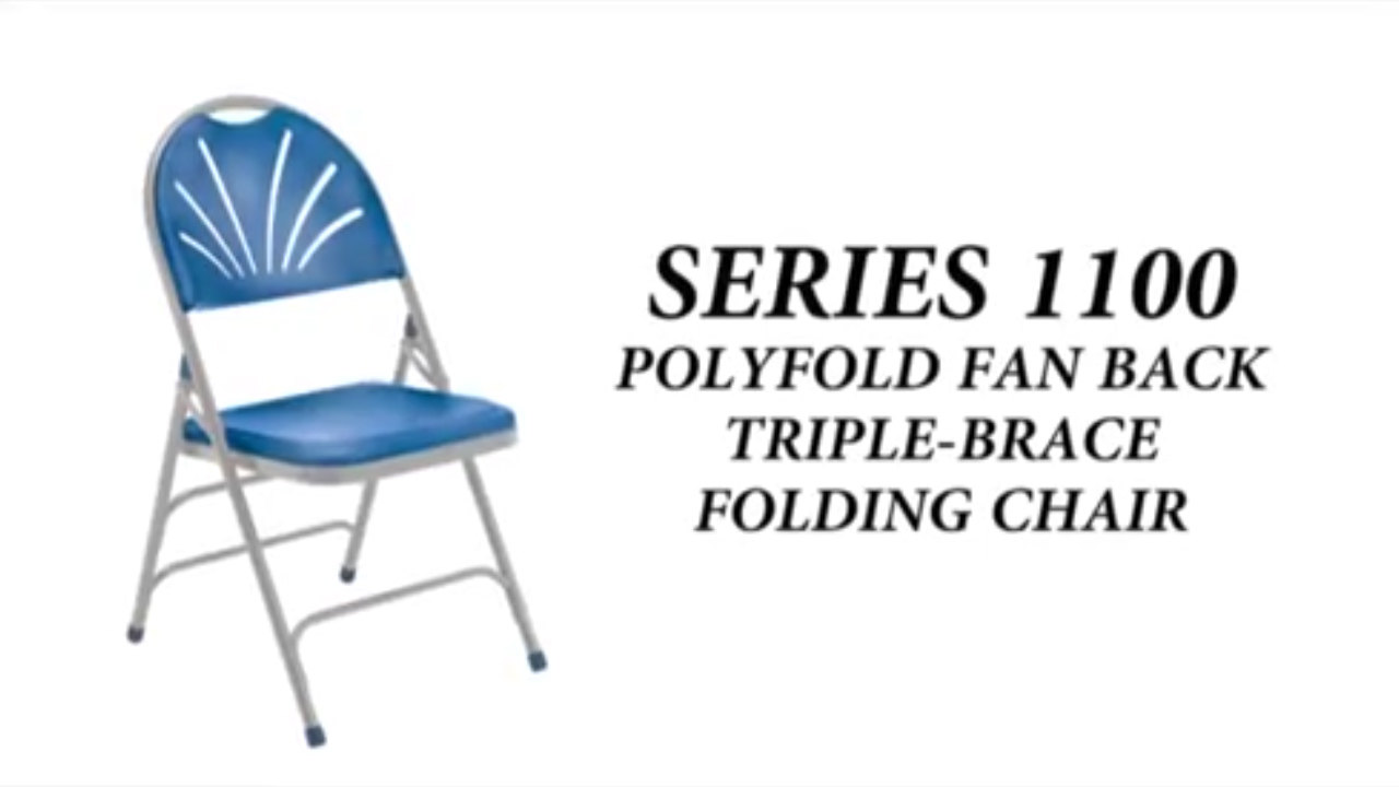folding chair enclosure arne jacobsen swan national public seating 1100 series video