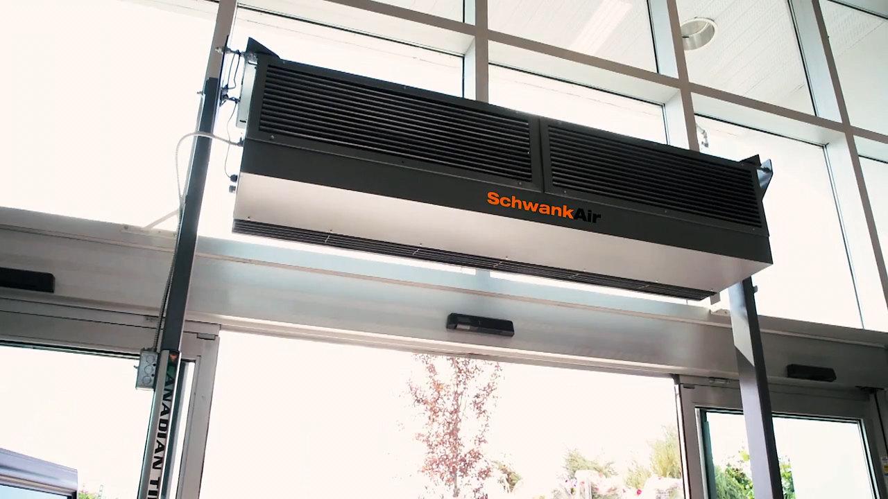 Schwank How Air Curtains Work Video Webstaurantstore