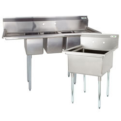 commercial kitchen sink trays stainless steel sinks