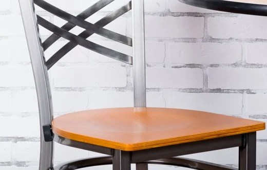 wooden restaurant chairs shower target furniture tables and bar stools booths more seating