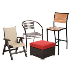 Metal Outdoor Chair Dining Room Covers On Ebay Commercial Furniture Restaurant