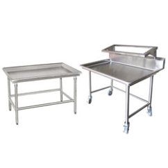 Stainless Steel Kitchen Table Home Depot Glass Tile Backsplash Prep Tables Work Sorting