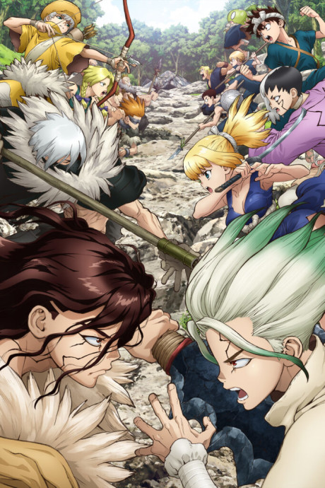 Dr. Stone: Stone Wars Episode 8 English Subbed