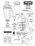 Waring BB180 44 oz. NuBlend Commercial Bar Blender