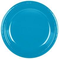"Creative Converting 28313131 10"" Turquoise Blue Plastic ..."