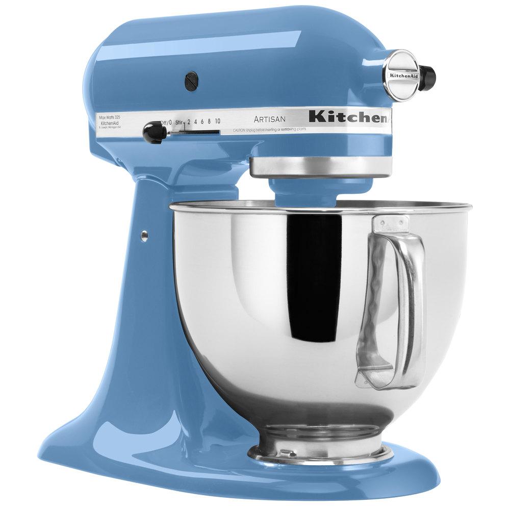 KitchenAid KSM150PSCO Cornflower Blue Artisan Series 5 Qt