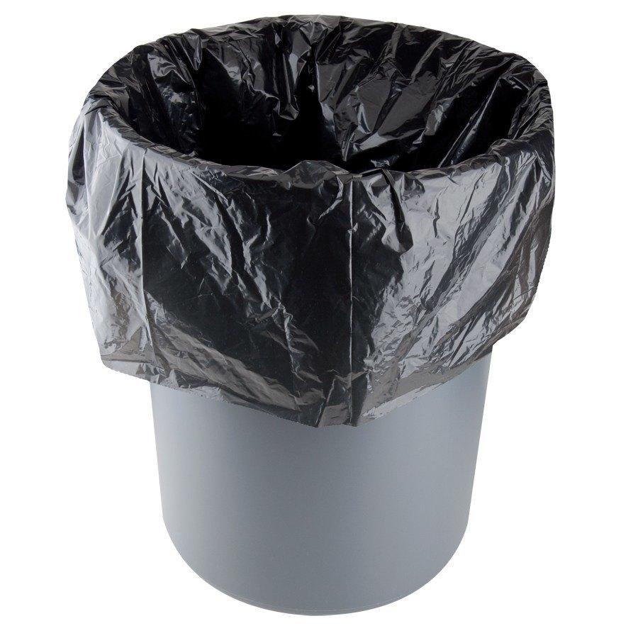 tall kitchen trash cans appliance reviews li'l herc repro bag 33 gallon 1.5 mil 33