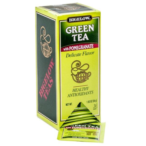 Bigelow Green Tea with Pomegranate 28Box