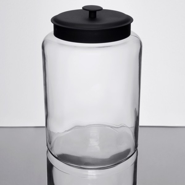 Anchor Hocking 88908 2 1 Gallon Glass Montana Jar With Metal Lid