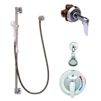 T&S B-3206 Shower Package with B-3201 Pressure Balance ...