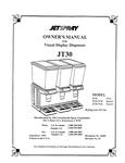 Cornelius Jet Spray JT30 Triple 5 Gallon Bowl Refrigerated
