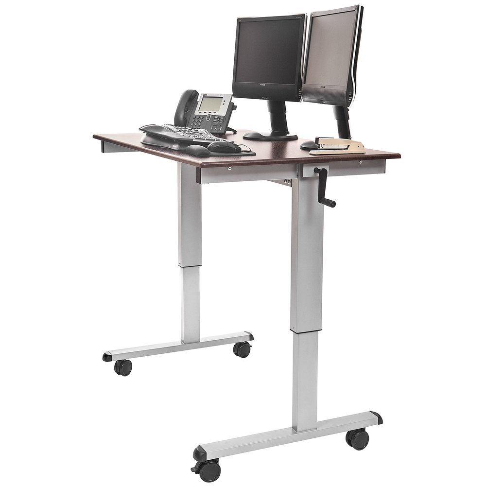Luxor  H Wilson STANDUPCF48DW Stand Up Desk  48