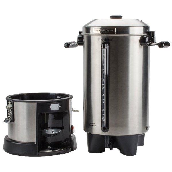 Hamilton Beach Hcu110s Brewstation 110 Cup 4.3 Gallon Coffee Urn - 120v
