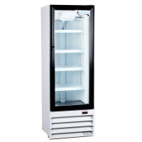 "Avantco GDC10 21"" Swing Glass Door White Merchandiser ..."