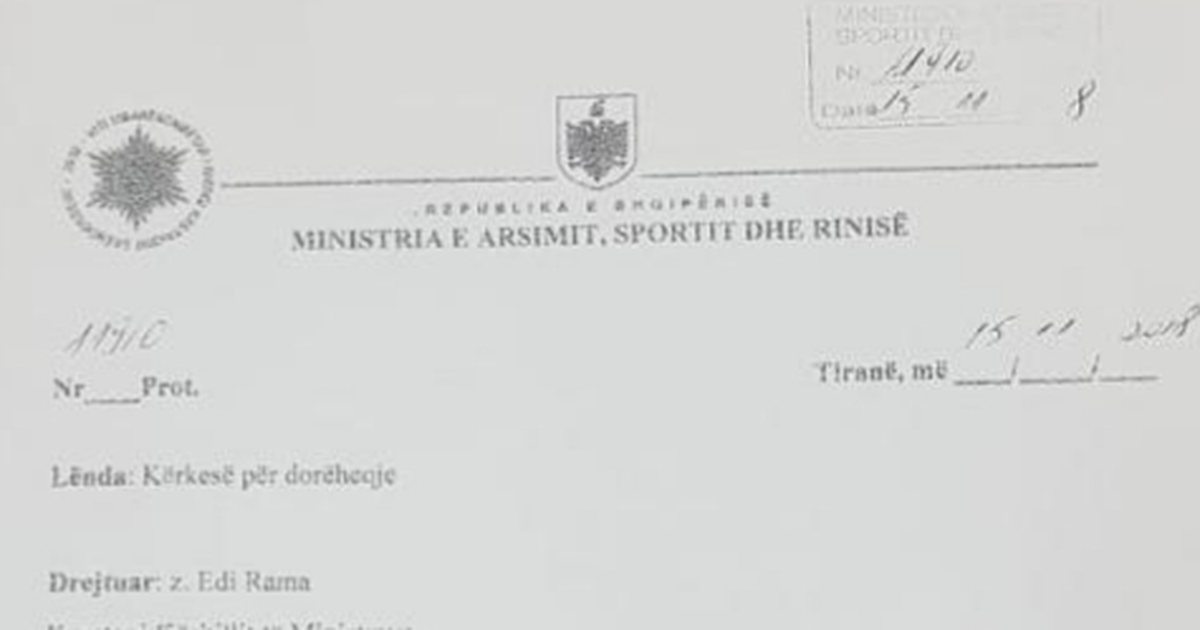 Zv.ministri pas dorëheqjes: Nuk pajtohem me modelin e