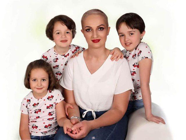 """Jam më e fortë se kanceri"""", historia frymëzuese e nënës së 3 fëmijëve: Tani jam regjistruar në fakultet për... (FOTO) - Aktualiteti"""