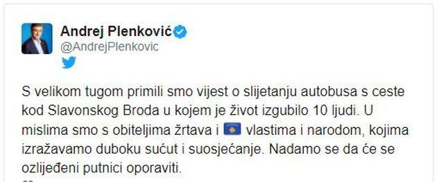 Aksidenti me 10 viktima, kryeministri kroat ngushëllon Kosovën: Jemi