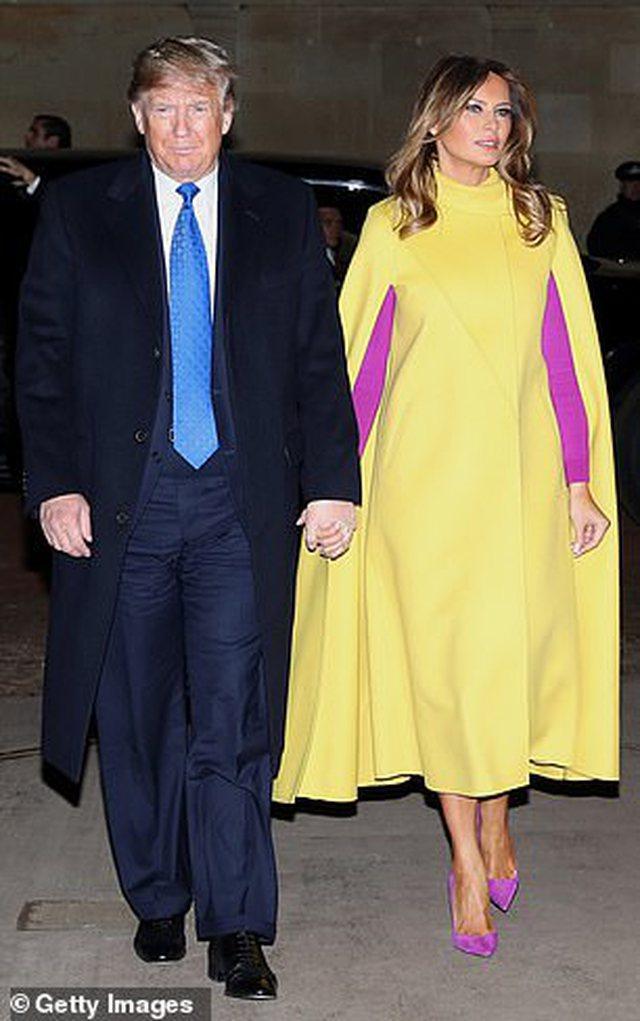 Melania dhe Donald Trump ne Britani