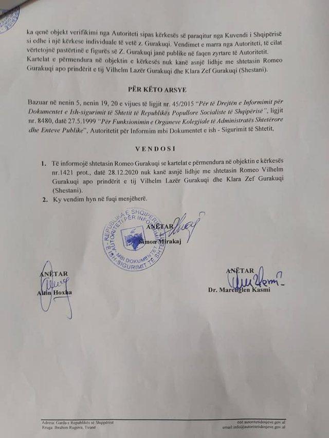 Përçarja në PD/ Ish-deputeti Gurakuqi publikon dokumentet dhe
