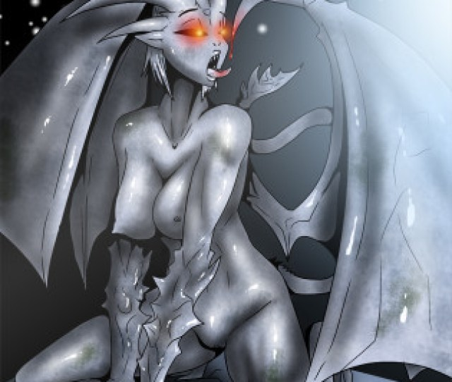 Female Gargoyle Art 051