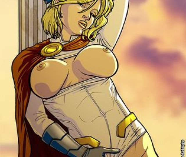 Power Girl Porn Images