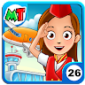 My Town : Airport Game icon