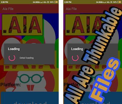 AIA beta (Unlimited AIA Files) (Aia for Thunkable) 2 0 apk