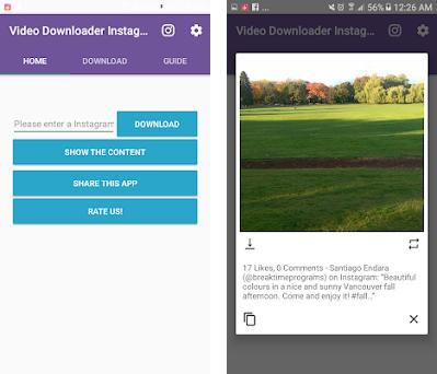 Descargar Videos de Instagram 3 0 para Android - Descargar APK Gratis