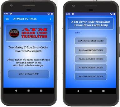 ATM Error Codes - Triton Codes 2 0 apk download for Android