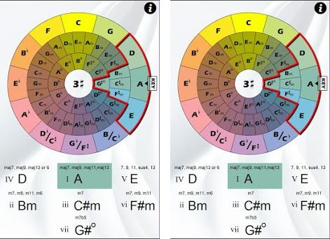 Chord Wheel 1 04 apk download for Android • air Chordwheel