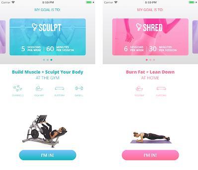 Fit Body: Fitness & Nutrition Capturas de pantalla