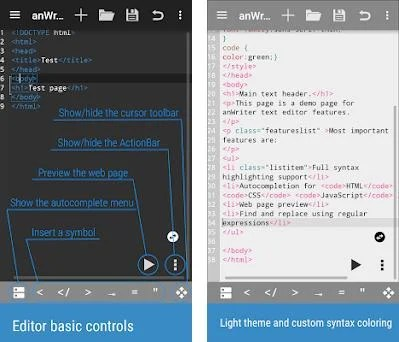 anWriter text editor 1 6 1 apk download for Android • com ansm