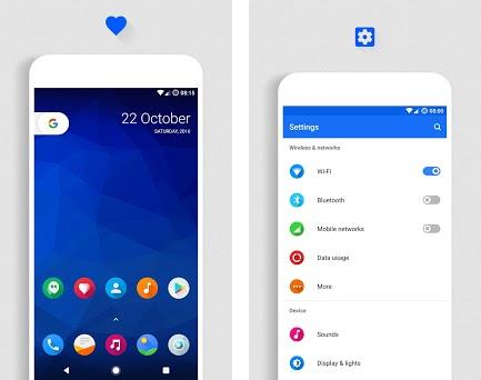 Flux White - CM13/12 1 Theme Varies with device apk download