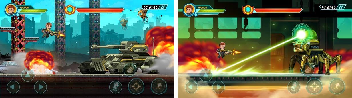Phantom Squad - Metal Force Capturas de pantalla