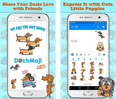 DachMoji: Dachshund Emojis & Stickers 1 1 5 apk download for Android