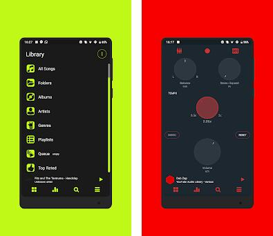 Blacklight ⚡️ PowerAmp v3 Skin 1 3 apk download for Android • com