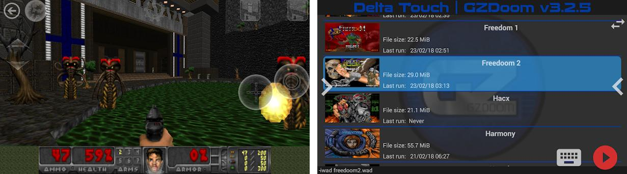 Delta Touch [THE Doom engine source port] 1 10 4 apk download for