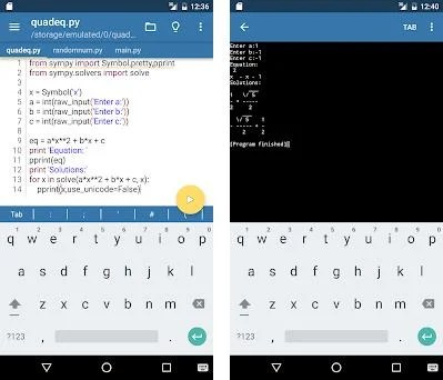 Pydroid - IDE for Python 2 2 2 apk download for Android • ru iiec