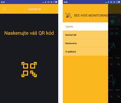 Bee hive monitoring preview screenshot