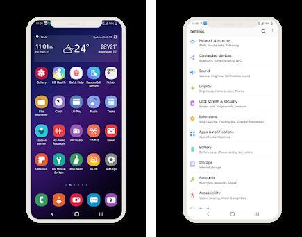 One Ui Theme LG G7 V35 &V40 1 1 apk download for Android