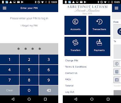 Arbuthnot Latham Mobile preview screenshot